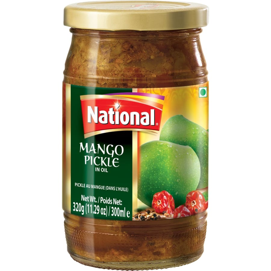 National Mango Pickle in Oil - HalalWorldDepot