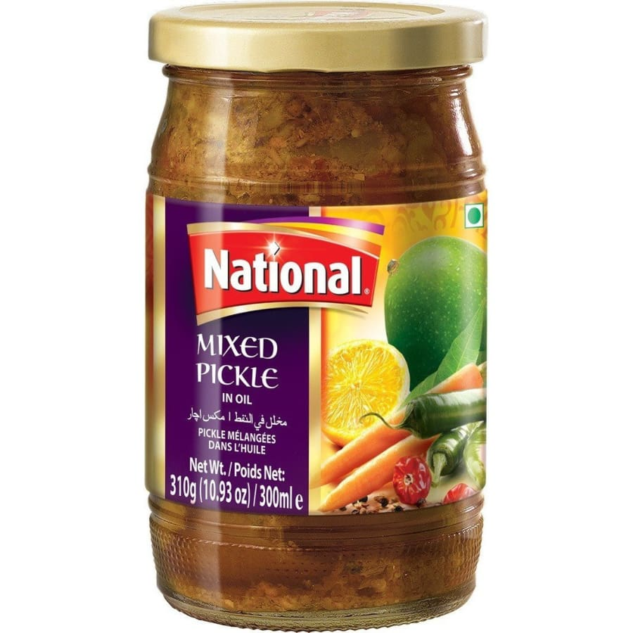 National Mixed Pickle in Oil - HalalWorldDepot