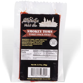 Sharifa Halal Smokey Toms Turkey Snack Sticks - HalalWorldDepot