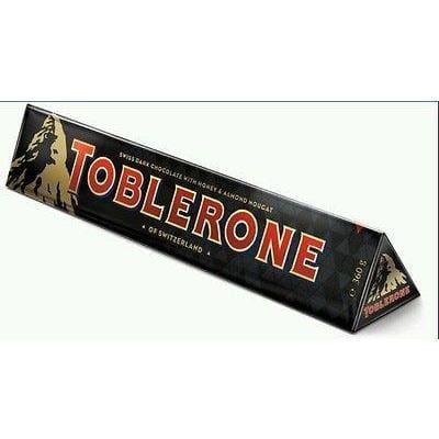 Toberlone Swiss Dark Chocolate Honey Almond Nougat