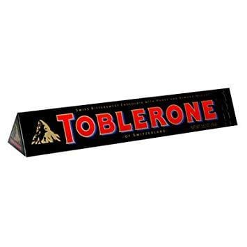 Toberlone Swiss Dark Chocolate Honey & Almond Nougat - HalalWorldDepot