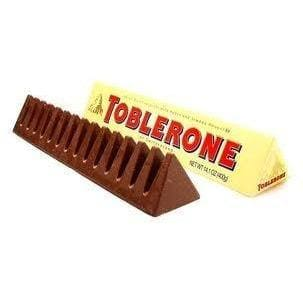 Toberlone Swiss Milk Chocolate with Honey & Almond Nougat - HalalWorldDepot