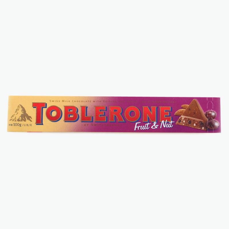 Toberlone Swiss Milk Chocolate with raisins & Honey & Almond Nougat - HalalWorldDepot