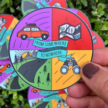 Load image into Gallery viewer, Road Trip Vinyl Sticker