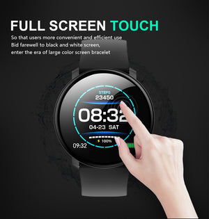 Smartwatch Vollbild Touchscreen Wasserdicht IP67 - Coomero