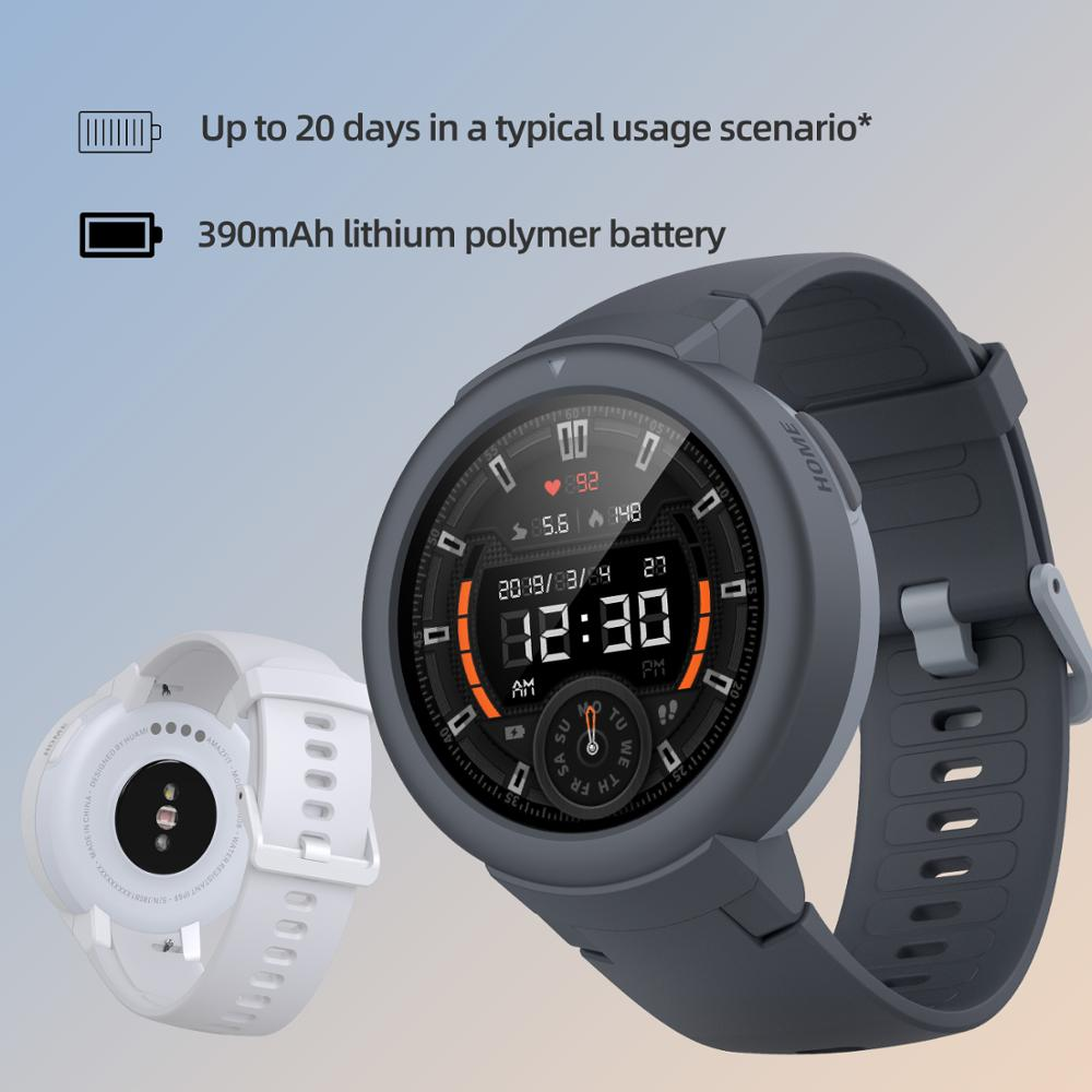 Amazfit Verge Lite Smartwatch IP68 GPS AMOLED Display - Coomero