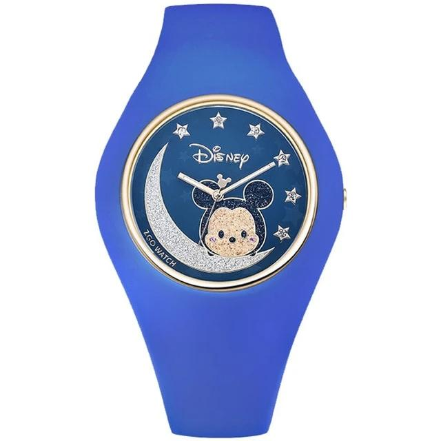 Disney Minnie Maus Cartoon Mädchen Quarz Armbanduhr