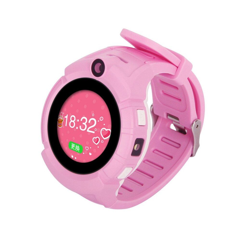 Kinder Smartwatch Safe-Keeper SOS Anruf Anti-Lost Monitor Echtzeit-Tracker GPS - Coomero