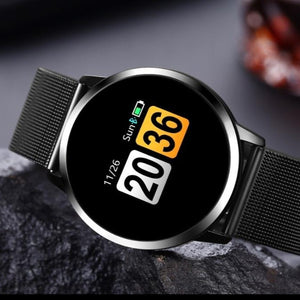 Laden Sie das Bild in den Galerie-Viewer, Smartwatch Fitness Armbanduhr Bluetooth Kamera Wasserdicht - Coomero