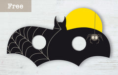paperish.com.au free bat halloween mask printable
