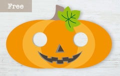 paperish.com.au free halloween pumpkin mask printable