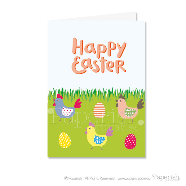 get a bonus easter greeting card from paperish.com.au
