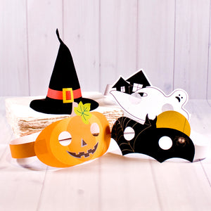 Halloween | Witch Hat and masks set