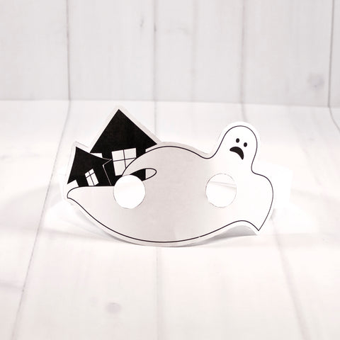 Free Halloween mask printable - Ghost
