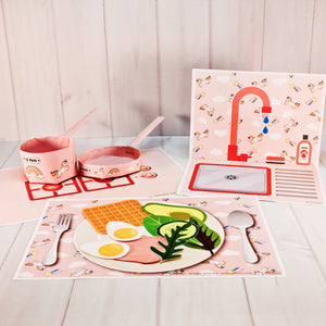 Kitchen set | Unicorn | paper craft pattern | arts crafts kids