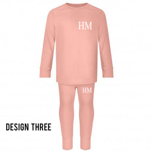 Limited Edition Personalised Children's Two Piece Lounge/Wear/Lounge Set - 100% Cotton