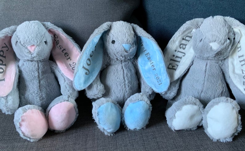 Personalised Easter Plush Bunny