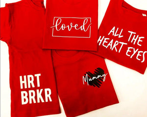 Valentines Tee Collection