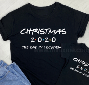 Christmas in Lockdown 2020 - Family Matching T-Shirts