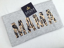 Load image into Gallery viewer, MAMA in Leopard/Zebra Print - Tee