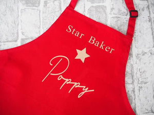Personalised Children's Apron - Star Baker