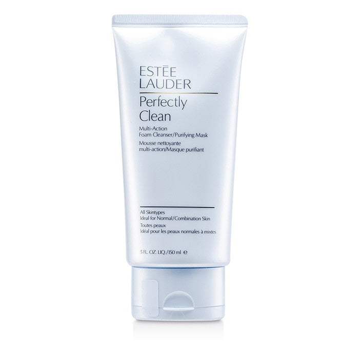 Estee Lauder Perfectly Clean Multi-action Foam Cleanser/Purifying Mask, 5.0 oz