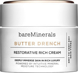 bareMinerals Butter Drench Restorative Rich Cream, 1.7 oz
