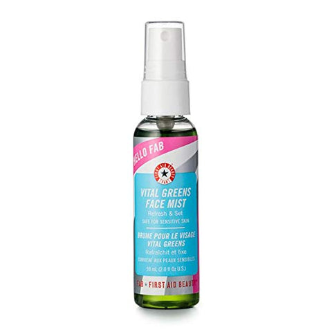 First Aid Beauty Vital Greens Face Mist, 2.0 fl oz