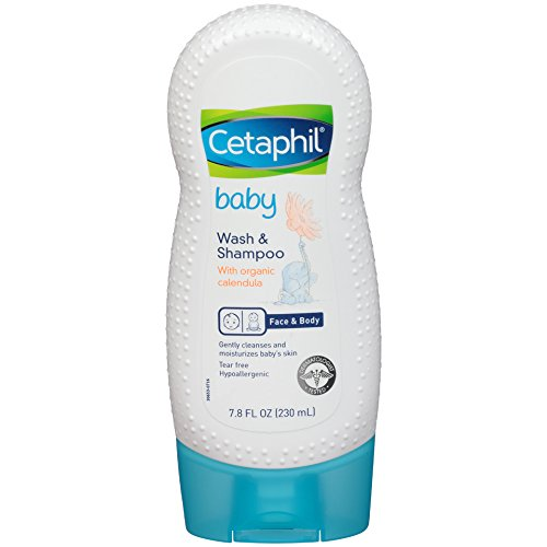 Cetaphil Baby Wash and Shampoo with Organic Calendula, 7.8 oz