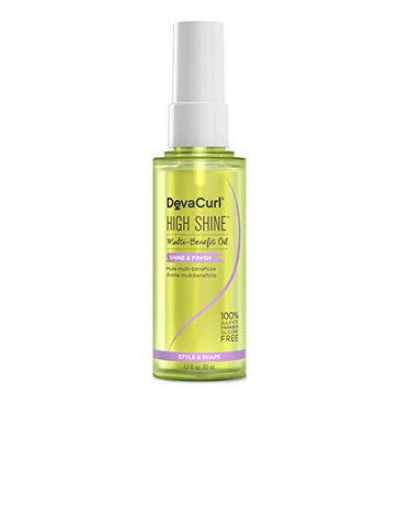 DevaCurl High Shine Multi-Benefit Oil, 1.7 fl oz