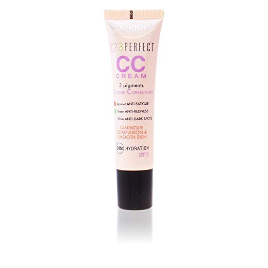Bourjois 123 Perfect CC Cream Colour Correcting, 1.0 oz