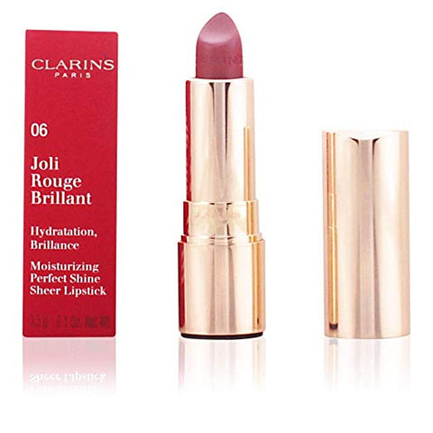 Clarins Joli Rouge Brilliant Lipstick, 0.1 oz