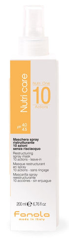 Fanola Nutri One 10 Azioni Spray Mask Leave in 6.76 oz