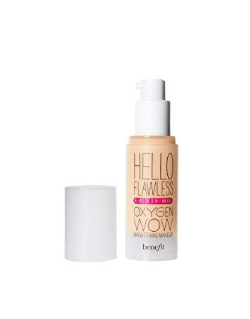 Benefit Hello Flawless Oxygen Wow! Liquid Foundation, 1.0 fl oz
