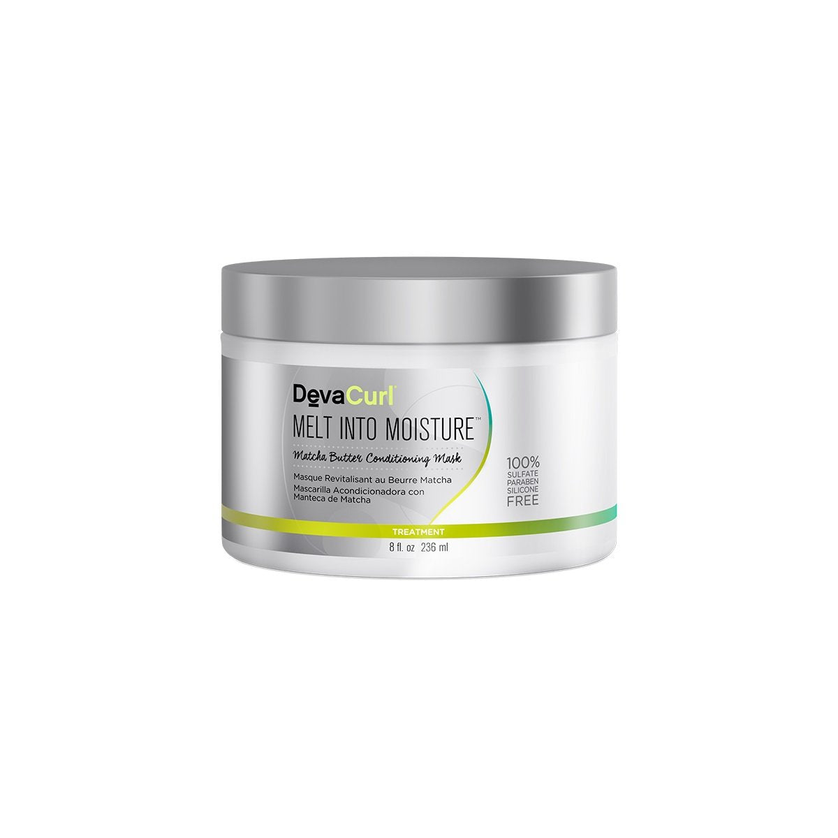 DevaCurl Melt Into Moisture Conditioning Mask, 8.0 oz