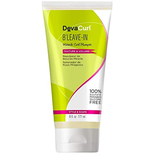 DevaCurl B'Leave-In Miracle Curl Plumper, 6.0 oz