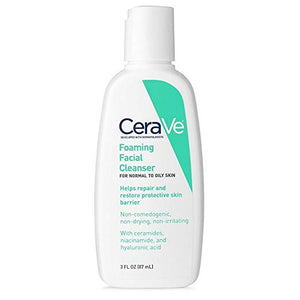 CeraVe Foaming Facial Cleanser, 3.0 oz