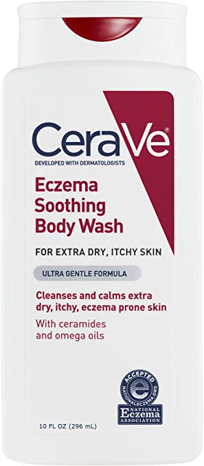 CeraVe Eczema Body Wash, 10.0 oz