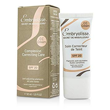 Embryolisse Artist Secret Cc Cream Spf 20 Cream, 1.0 oz