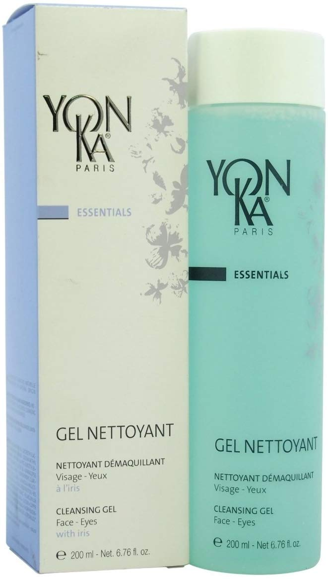 Yonka Gel Nettoyant Cleansing Gel For Face and Eyes 6.76 oz