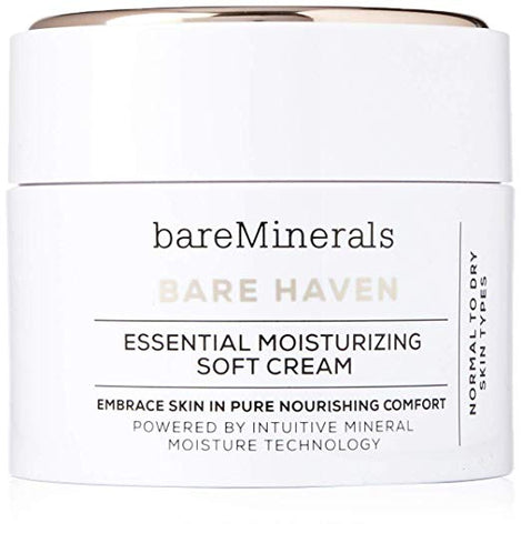 bareMinerals Bare Haven Essential Moisturizing Soft Cream, 1.7 oz