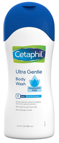 Cetaphil Ultra Gentle Body Wash, 16.9 oz