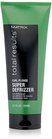 Matrix Total Results Curl Please Super Defrizzer Curl Defining Hair Gel, 6.8 oz