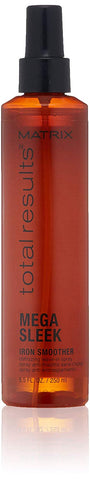 Matrix Total Results Mega Sleek Iron Smoother Defrizzing Leave-In Spray, 8.5 oz