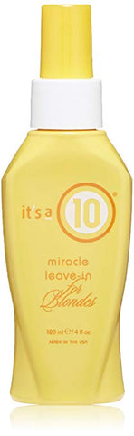 It's a 10 Miracle Leave-In for Blondes, 4 fl oz