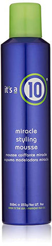 It's a 10 Haircare Miracle Styling Mousse, 9.0 fl oz