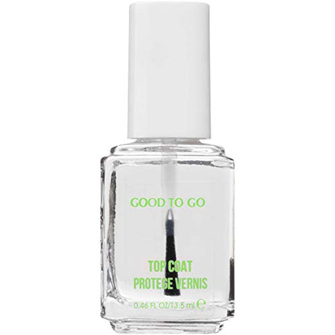 essie Good To Go Top Coat Fast Dry + Shine, 0.46 fl oz