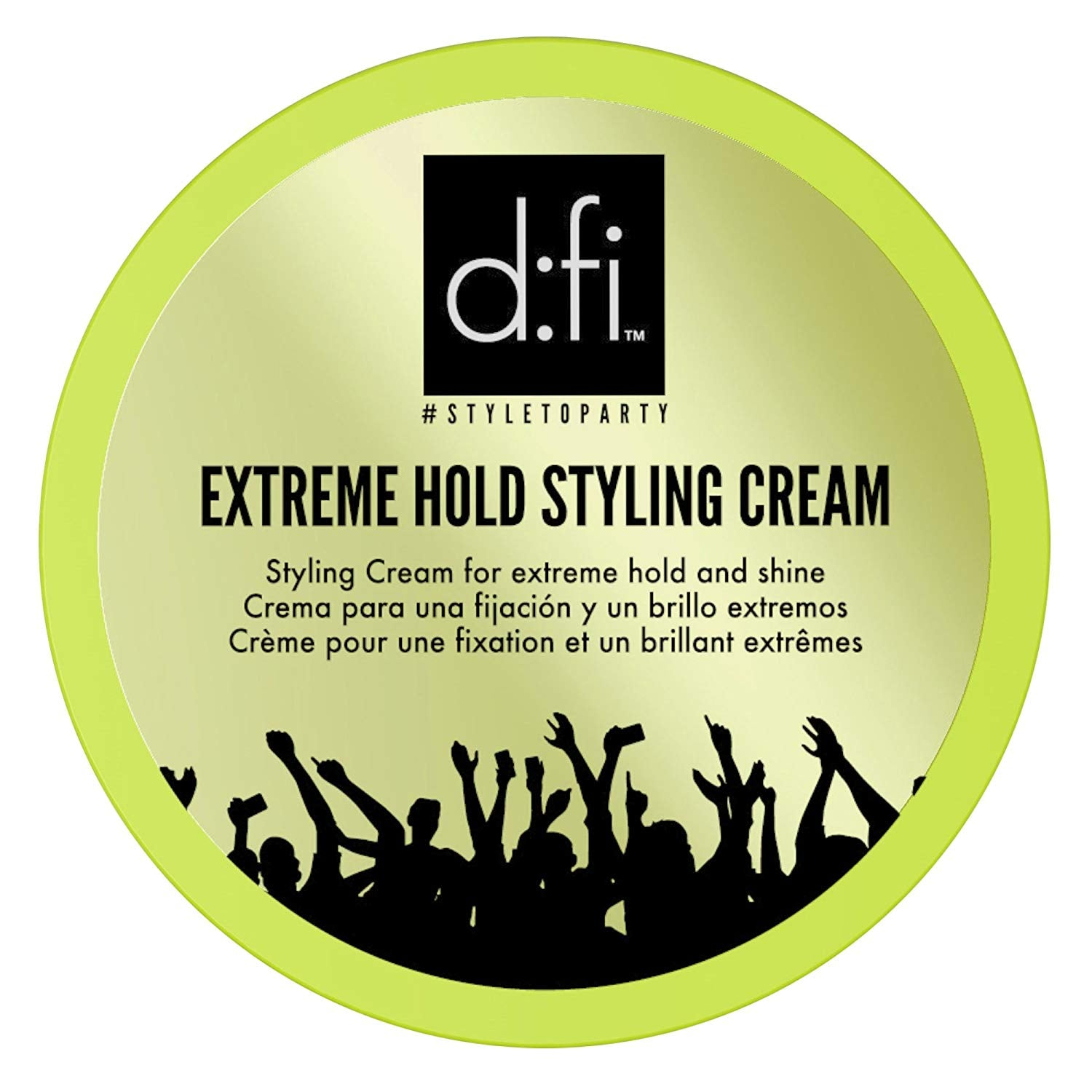 D:FI HAIR Extreme Hold Styling Cream, 5.3 oz