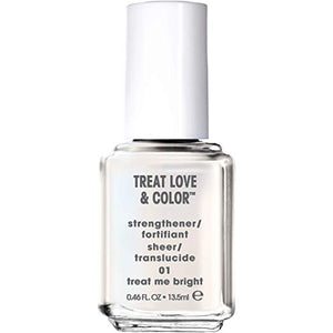essie Treat Love & Color Strengthener for Normal To Dry/Brittle Nails, 0.46 fl oz