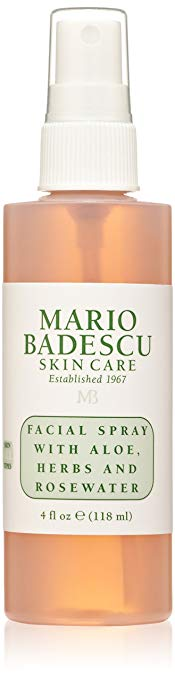 Mario Badescu Facial Spray with Aloe Herbs and Rosewater, 4.0 fl oz
